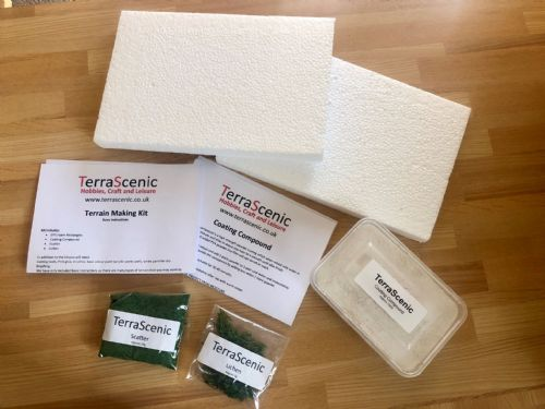 Wargame Terrain Scenery Making Kit Model Railway Diorama